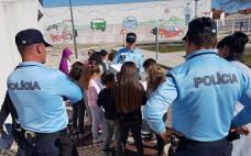 """Atividade de Educação Rodoviária """" Parar, Olhar e Escutar"""" na ESER - Escola de Segurança & Educação Rodoviária"""