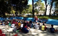 """A atividade """"Leituras de Jardim"""" marca dia internacional da alfabetização"""