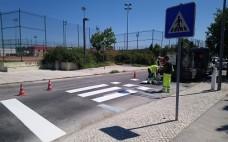 Pinturas Rodoviárias e Intervenções de melhoramento na Rua Forno do Grilo