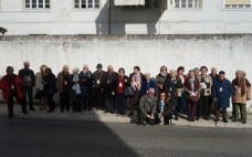Utentes do Centro de Convívio do Entroncamento fazem visita cultural a Alenquer