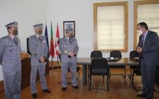 Receção ao novo Comandante do Regimento de Manutenção nos Paços do Concelho