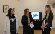 """Inauguração da Exposição de Desenho Gráfico """"A Vida como Voo da Borboleta"""" de Anet Sobko"""