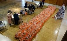 Município do Entroncamento entregou 110 cabazes de Natal a  famílias carenciadas do Concelho