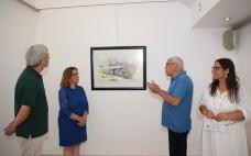 """Inauguração da exposição de aguarela """"Sentimentos e Cores MPL"""" de Manuel Lopes"""