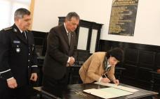 Secretária de Estado Adjunta e da Administração Interna homologou hoje o Protocolo de Colaboração para a Nova Esquadra da PSP do Entroncamento