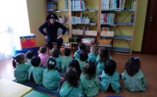 O Pirata dos Livros recebeu os mais pequeninos na Biblioteca Municipal