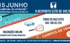 Inscrições Online | Piscinas Municipais e Campos de Ténis