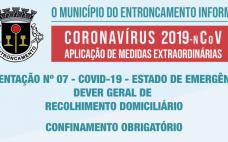 Orientação nº 7 | Medidas extraordinárias de resposta à epidemia do novo Coronavírus | Limitação das Deslocações - Recolhimento Domiciliário