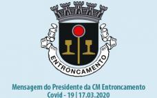 Mensagem Presidente Câmara Municipal | Covid 19